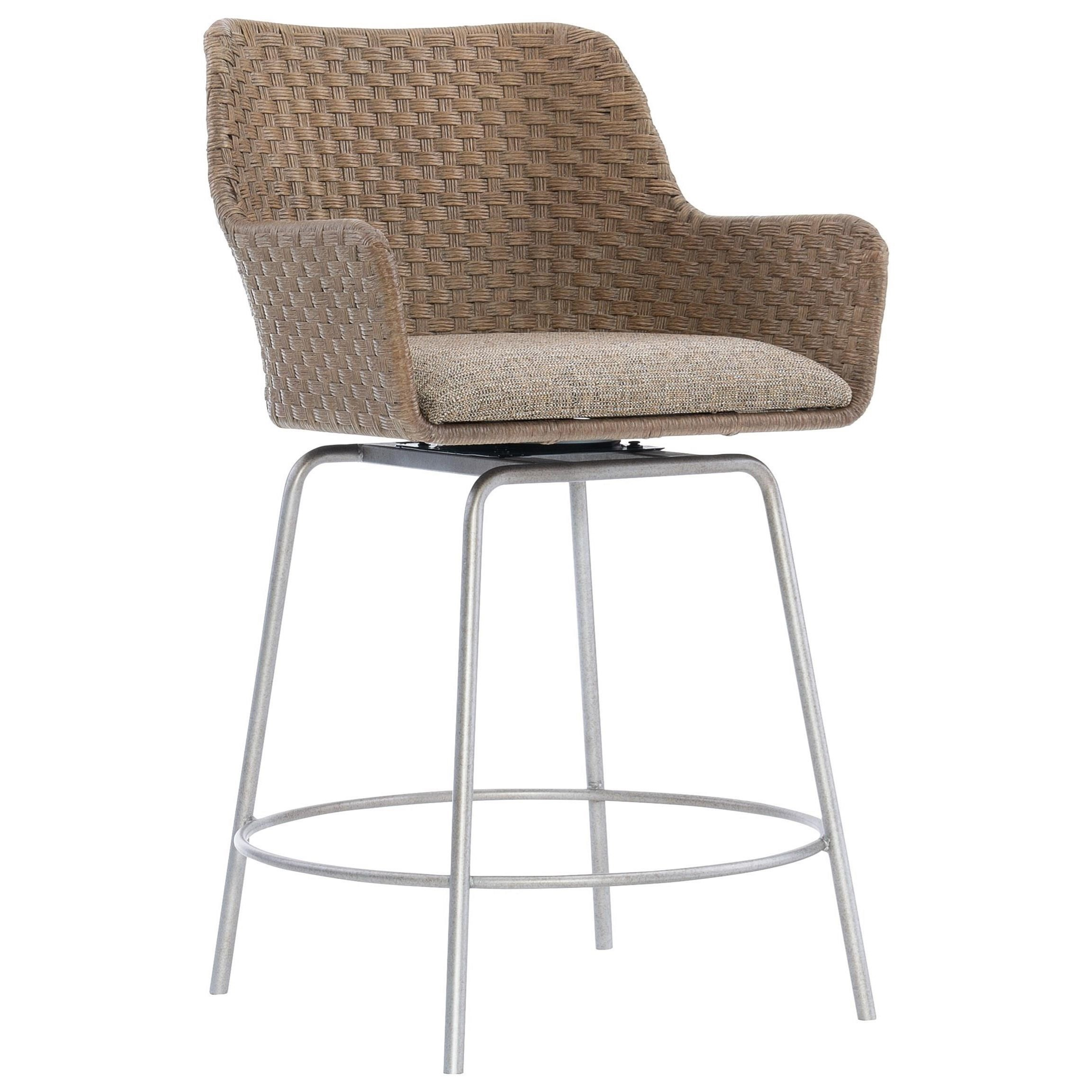 Loft - Logan Square Meade Swivel Counter Stool at Williams & Kay