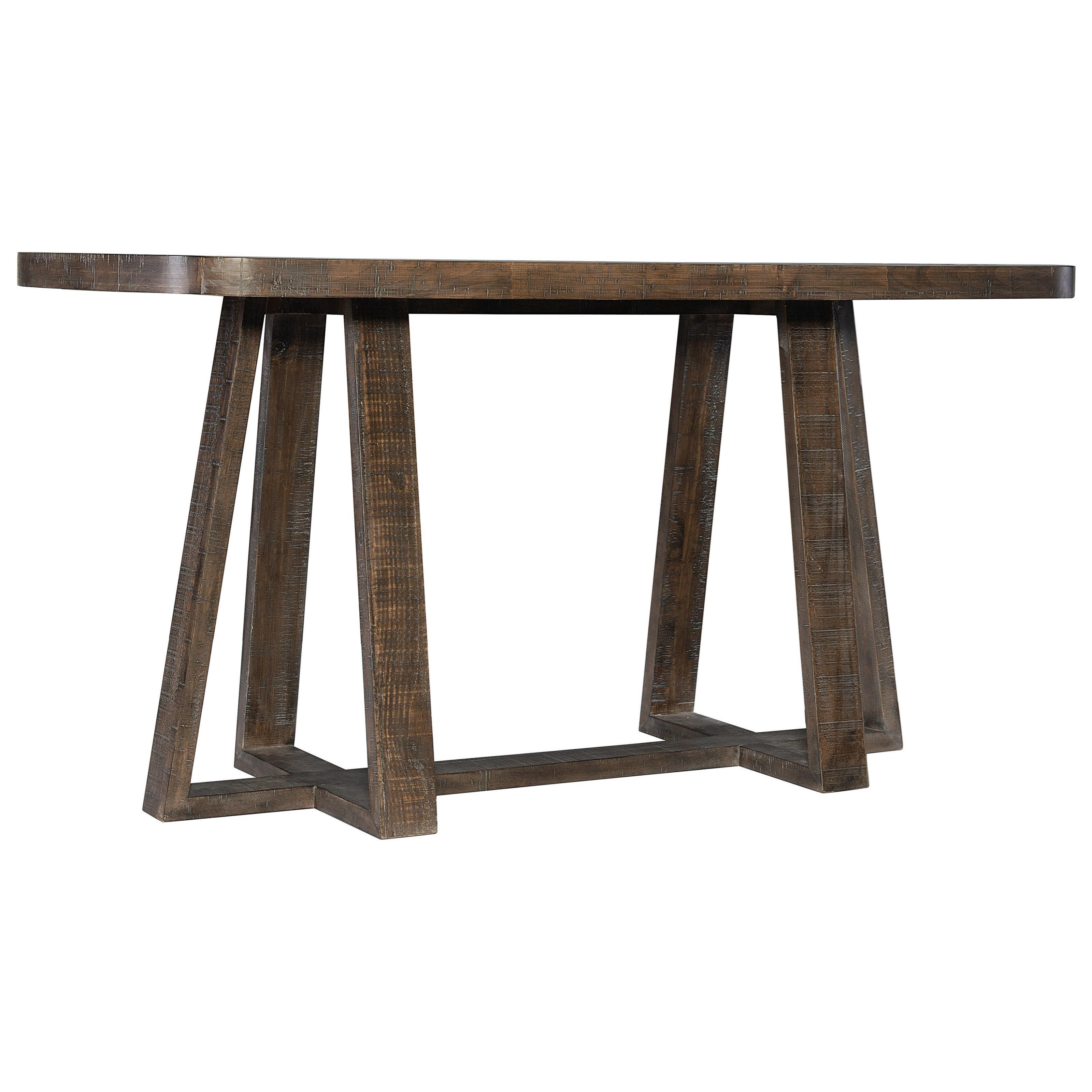Loft - Logan Square Asher Gathering Table by Bernhardt at Baer's Furniture
