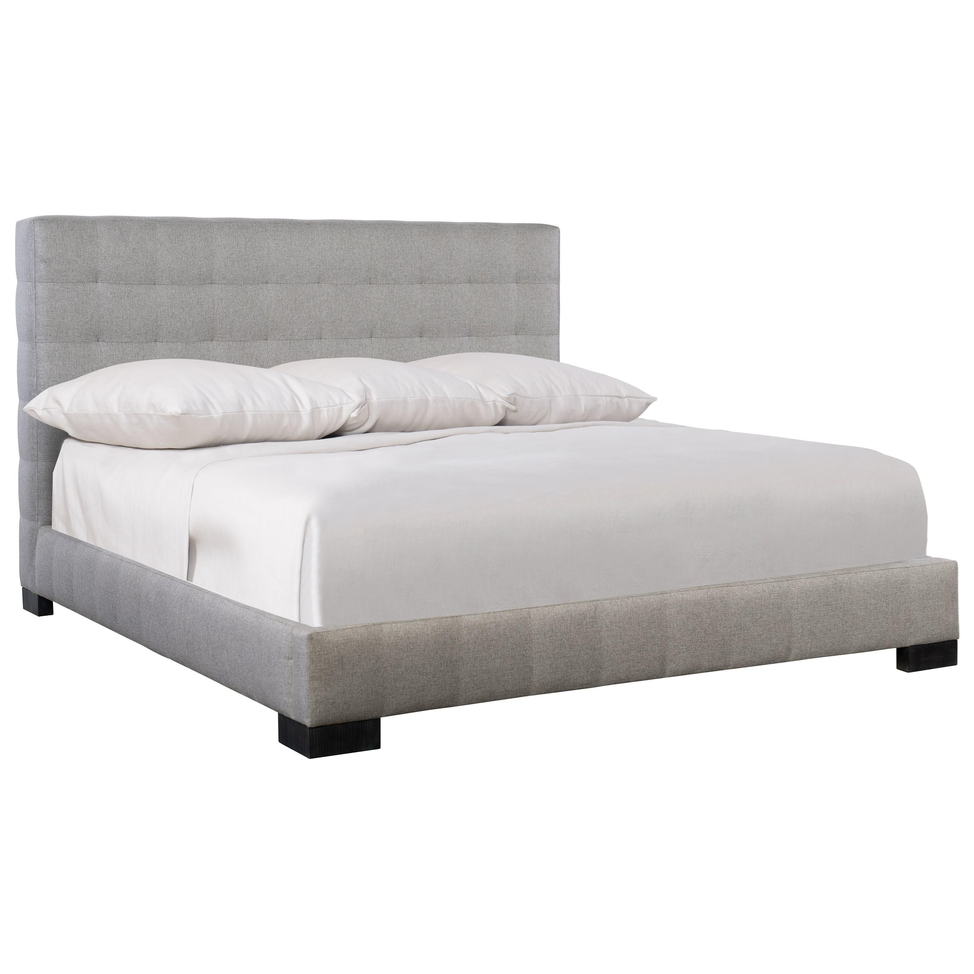 Loft - Logan Square LaSalle King Upholstered Bed by Bernhardt at Baer's Furniture