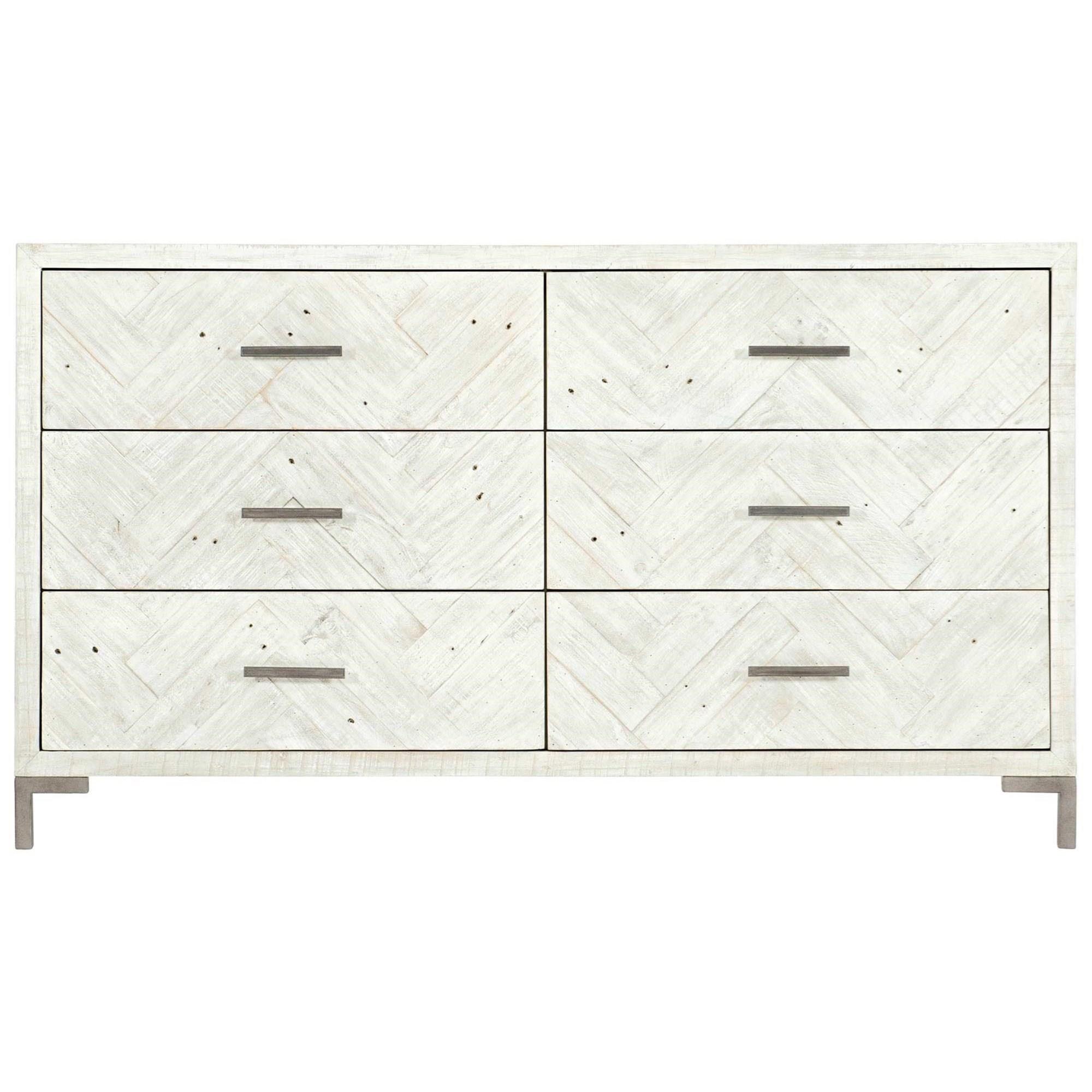 Loft - Highland Park Macauley 6-Drawer Dresser by Bernhardt at Baer's Furniture