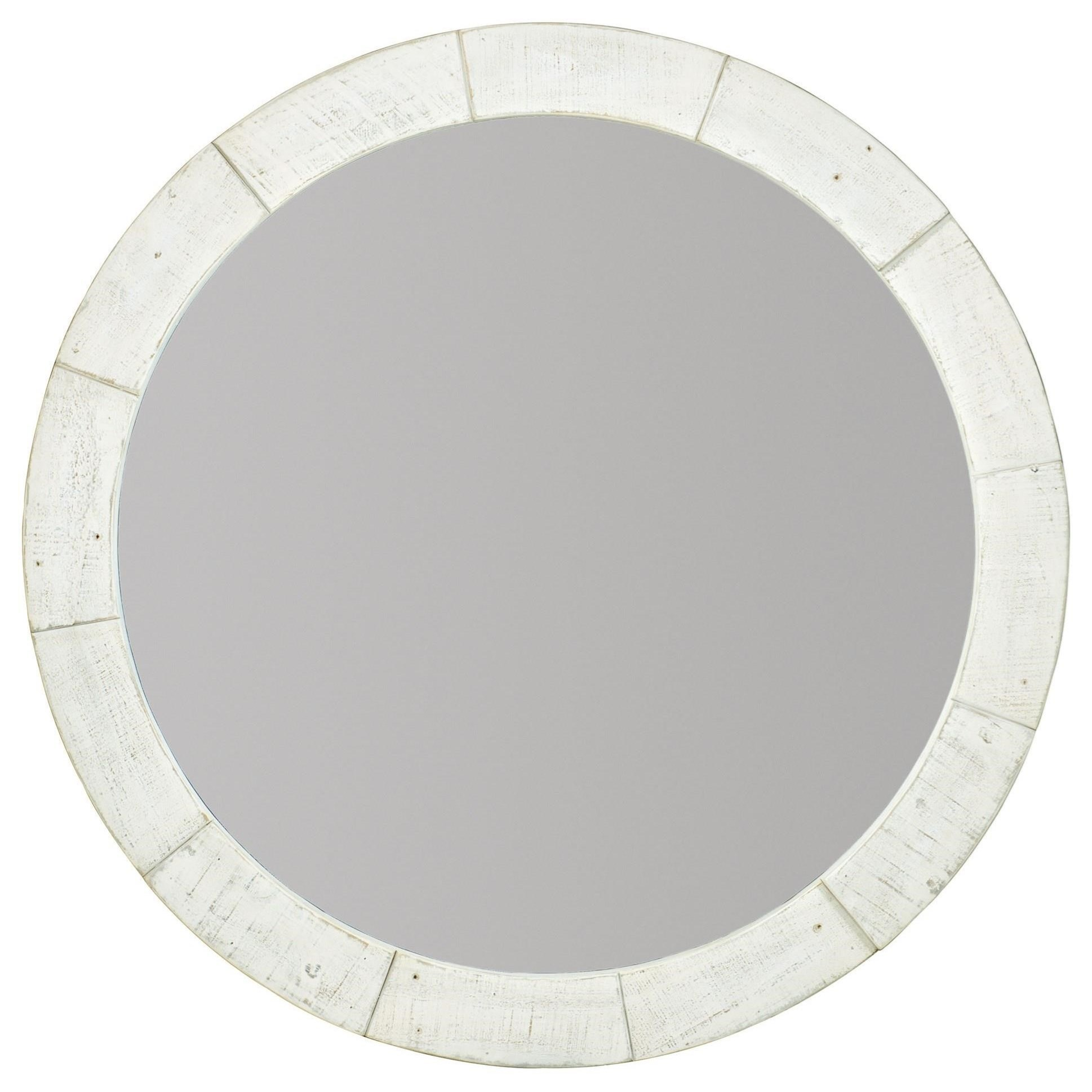 Loft - Highland Park Piper Round Mirror by Bernhardt at Fisher Home Furnishings