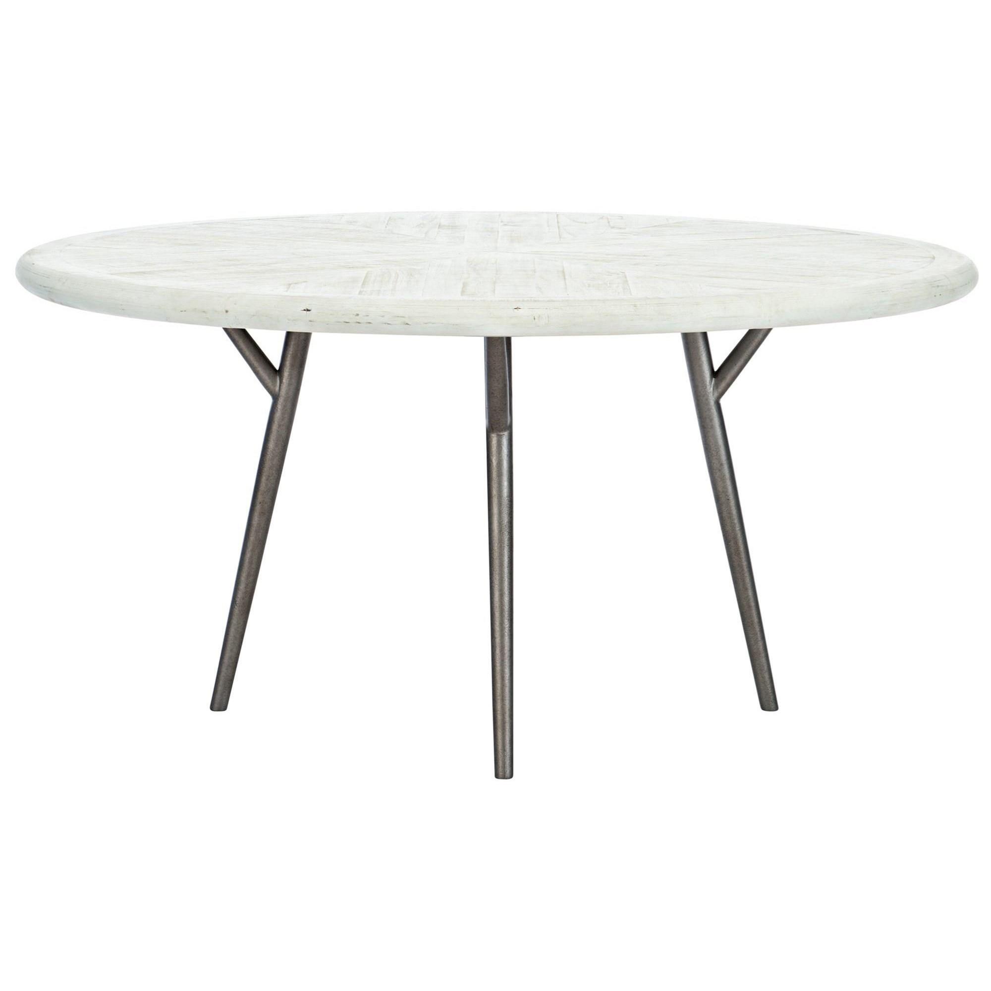 Loft - Highland Park Presley Round Dining Table by Bernhardt at Baer's Furniture