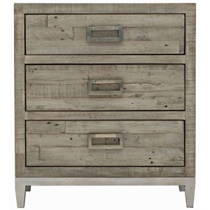 Shaw 3-Drawer Nightstand