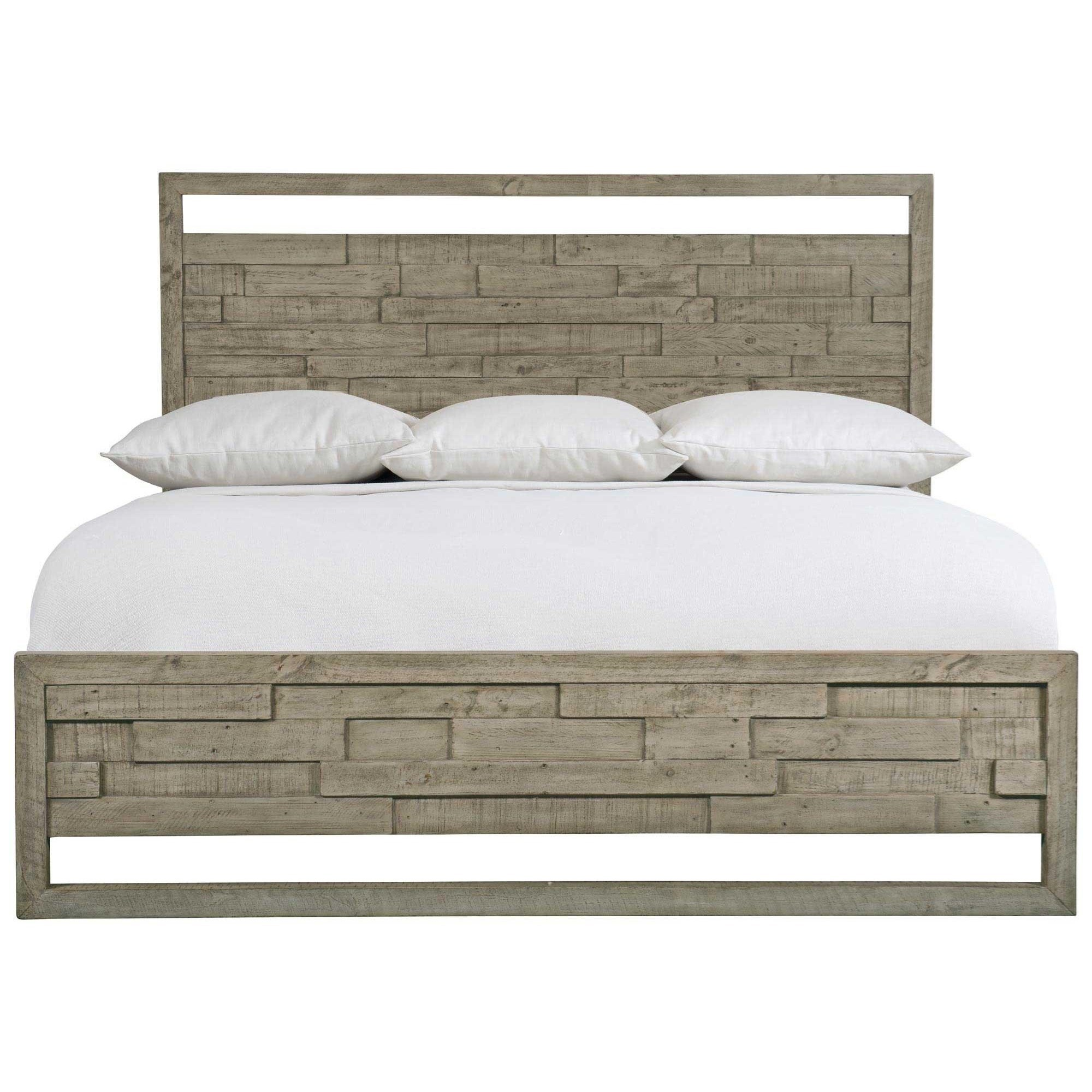 Loft - Highland Park Shaw Queen Panel Bed by Bernhardt at Baer's Furniture
