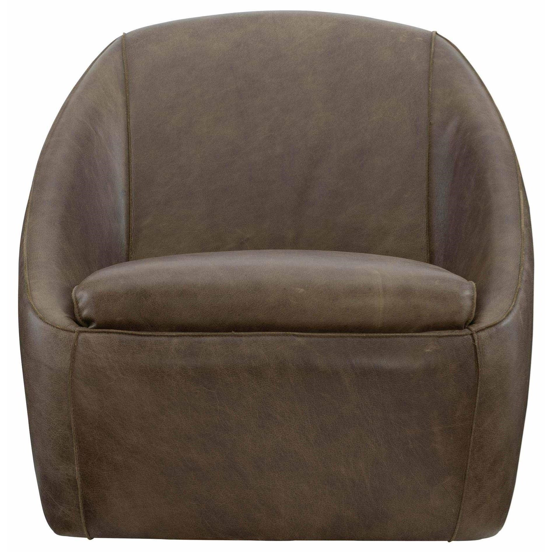 Loft - Highland Park Webster Swivel Chair at Williams & Kay