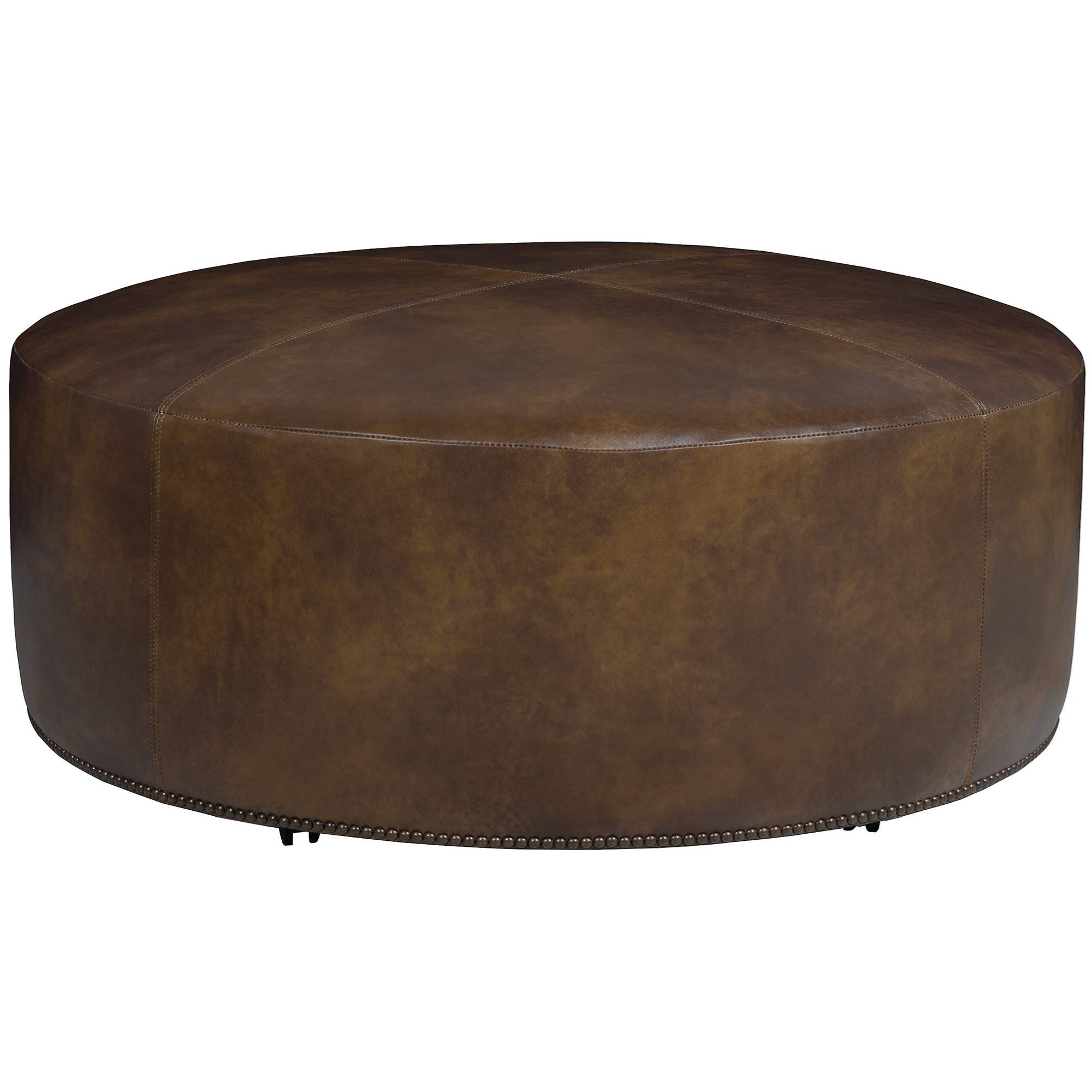 "Lolo Round 48"" Cocktail Ottoman by Bernhardt at Sprintz Furniture"