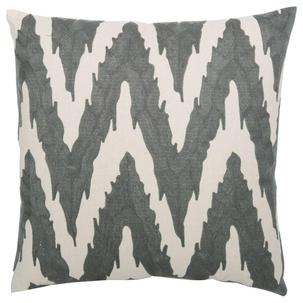 "Luxe Pillows Embroidered Flame Stitch (21.5"" x 21.5"") by Bernhardt at Belfort Furniture"