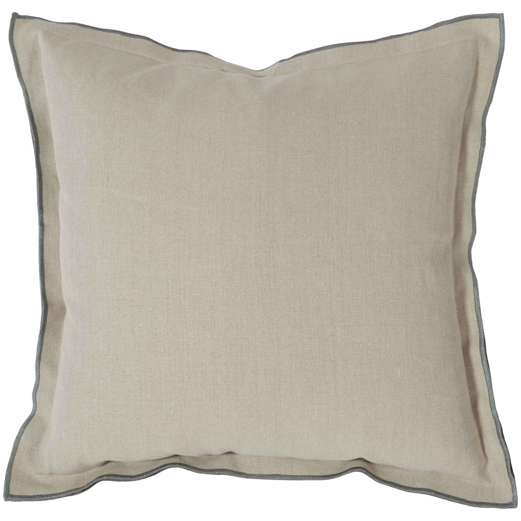 "Luxe Pillows Contrast Flange (22""x22"") by Bernhardt at Malouf Furniture Co."