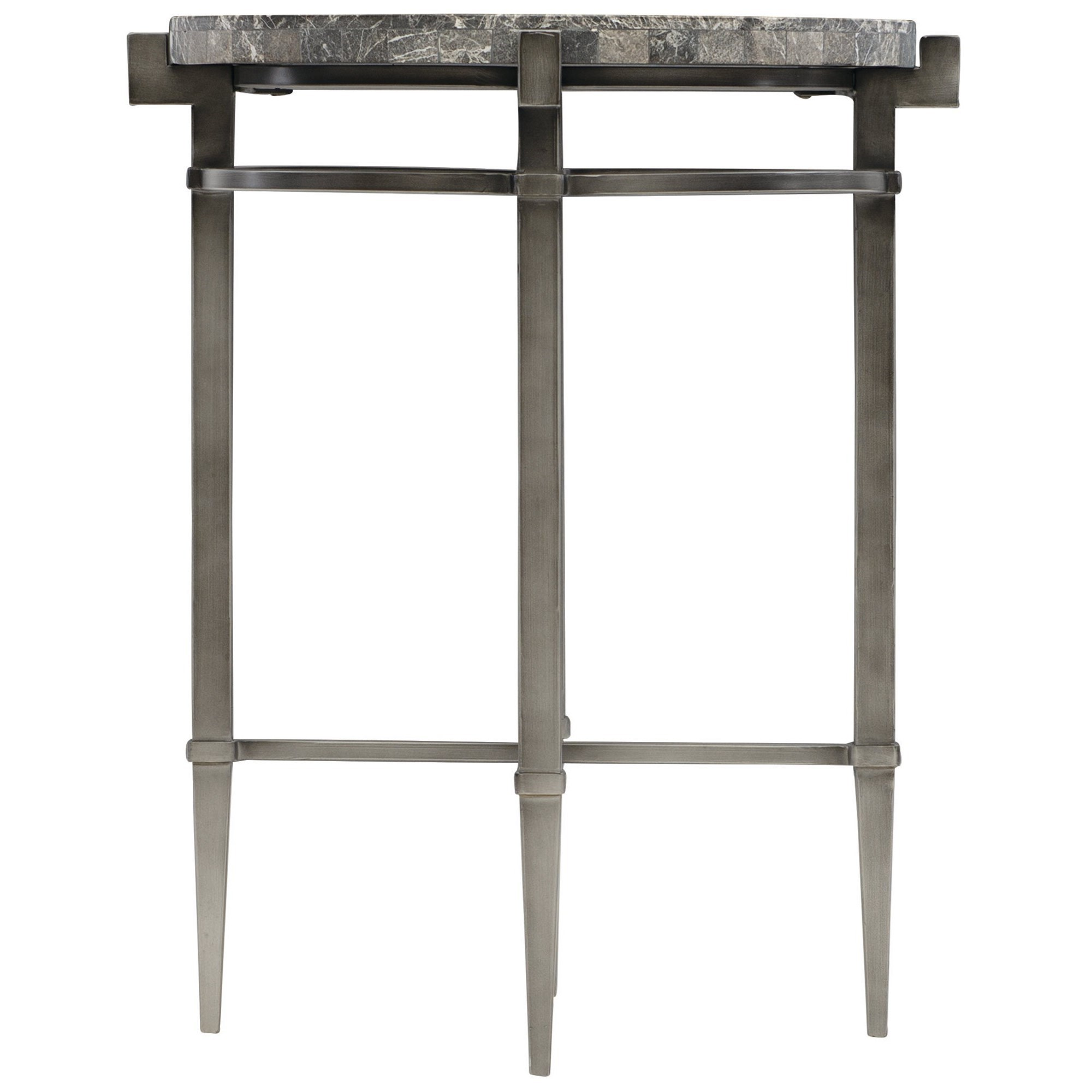 Mariposa Round Drink Table by Bernhardt at Baer's Furniture