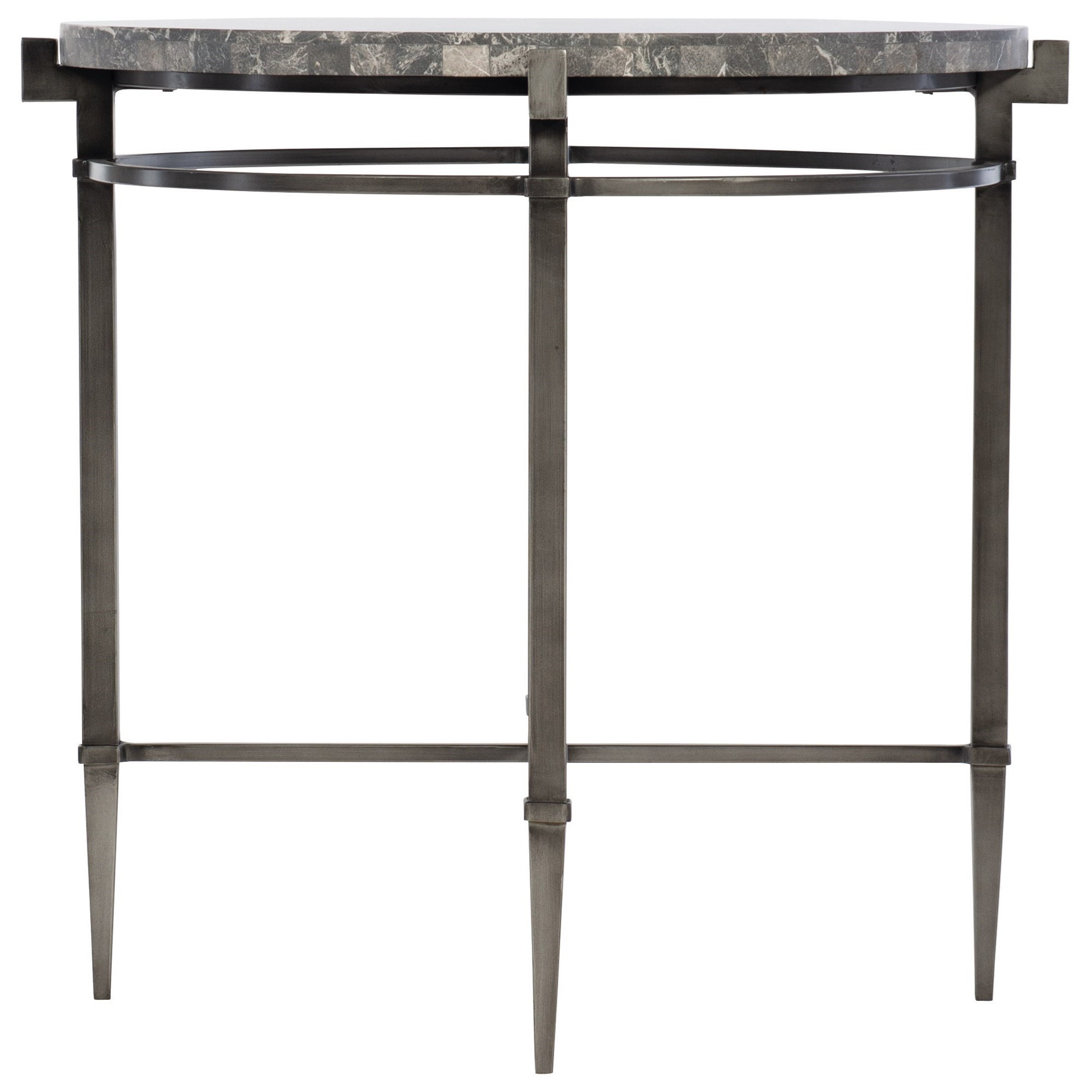 Mariposa Round End Table by Bernhardt at Baer's Furniture