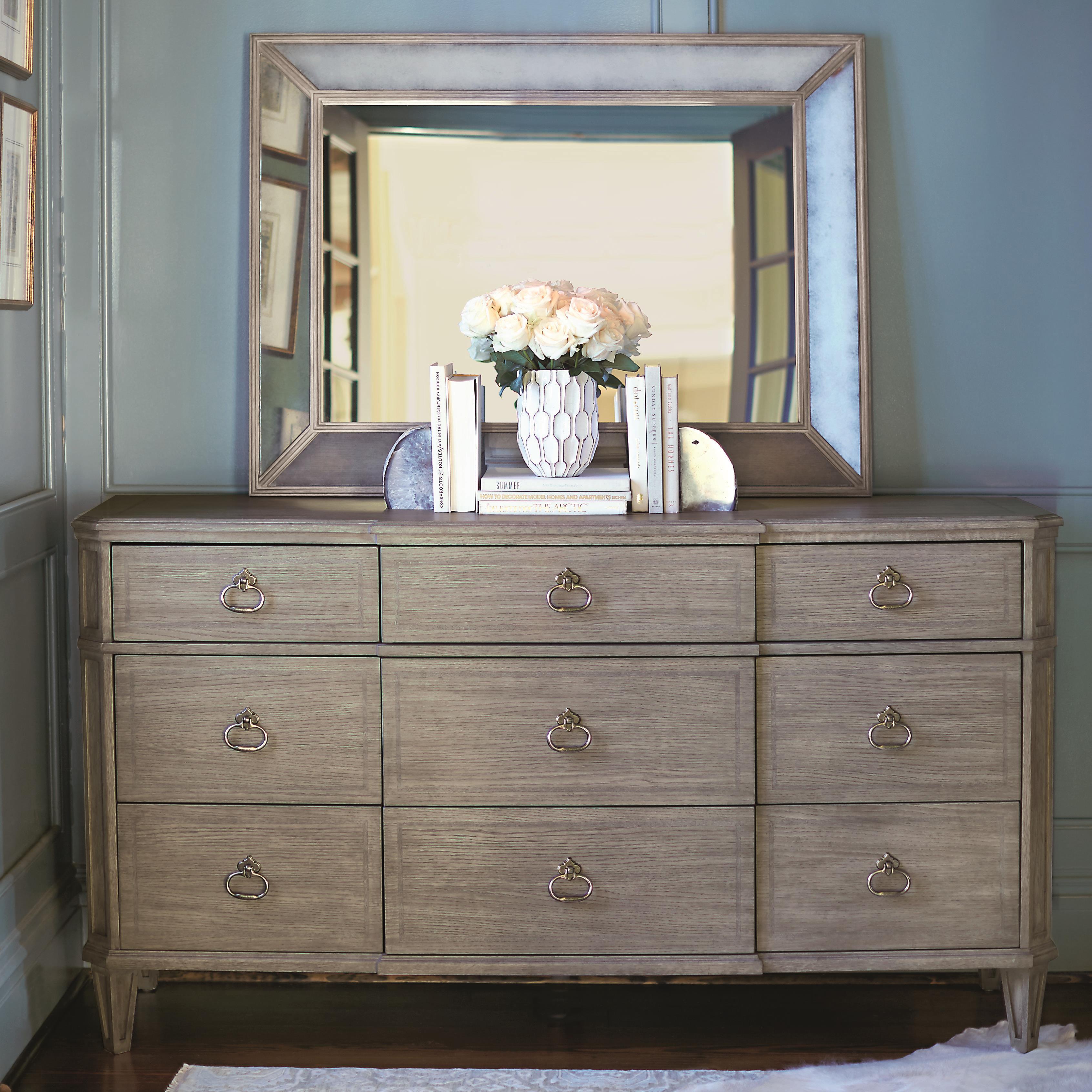 Marquesa Dresser and Mirror Set at Williams & Kay