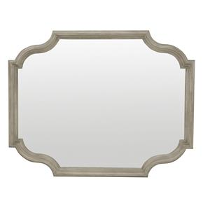 Mirror with Shaped Frame