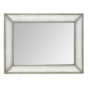 Mirror with Antique Glass Border