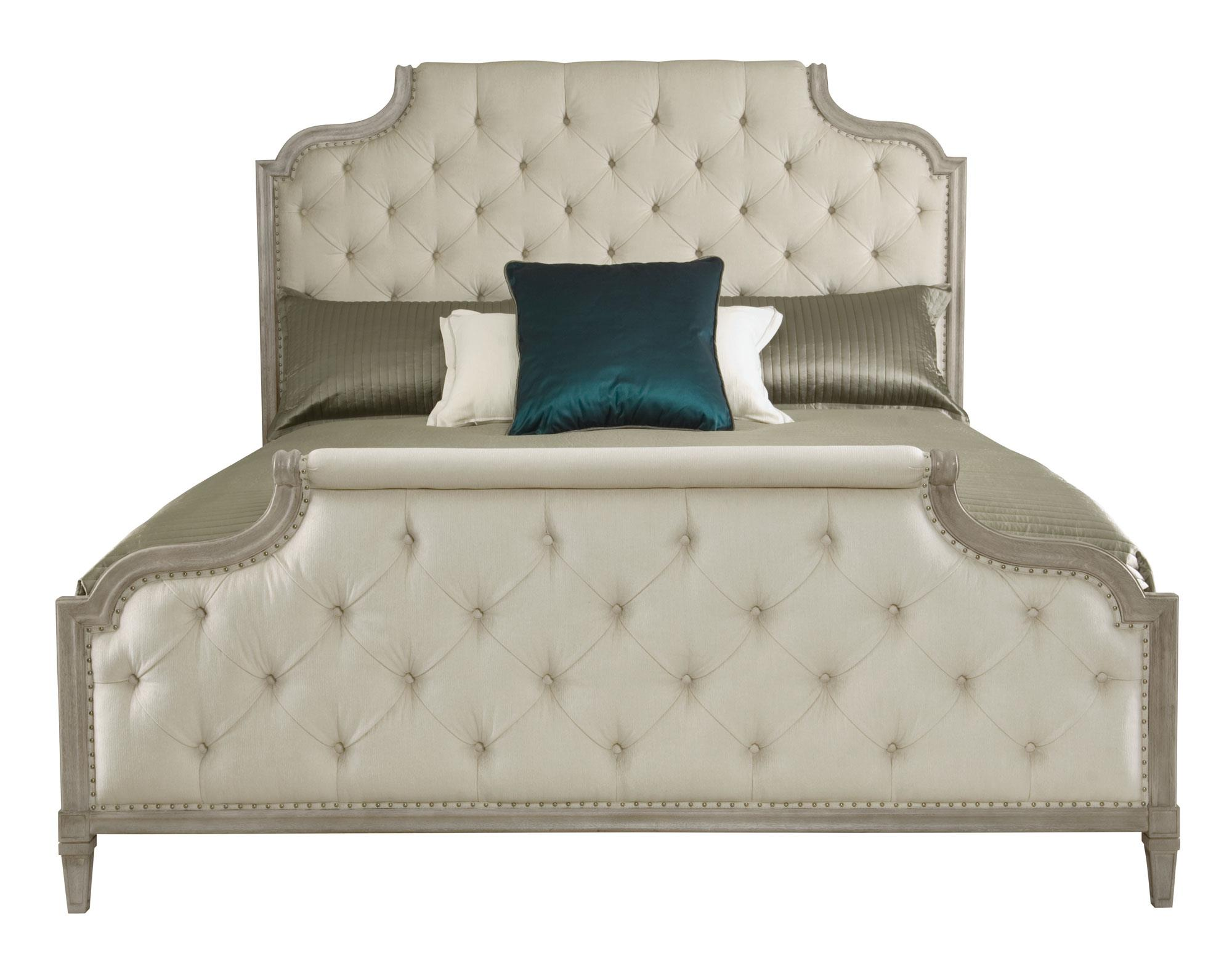 Marquesa Montrose King Upholstered Bed by Bernhardt at Morris Home