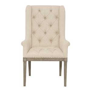 Bernhardt Marquesa Customizable Host Dining Chair
