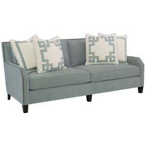 Contemporary Sofa with Nailhead Trim