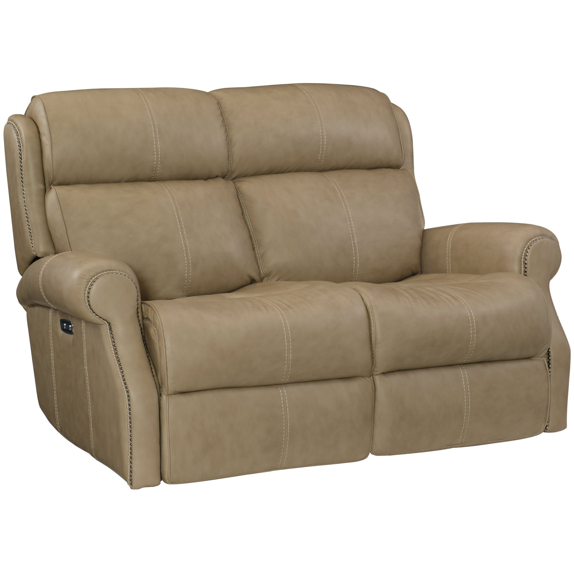 McGwire  Power Motion Loveseat by Bernhardt at Baer's Furniture