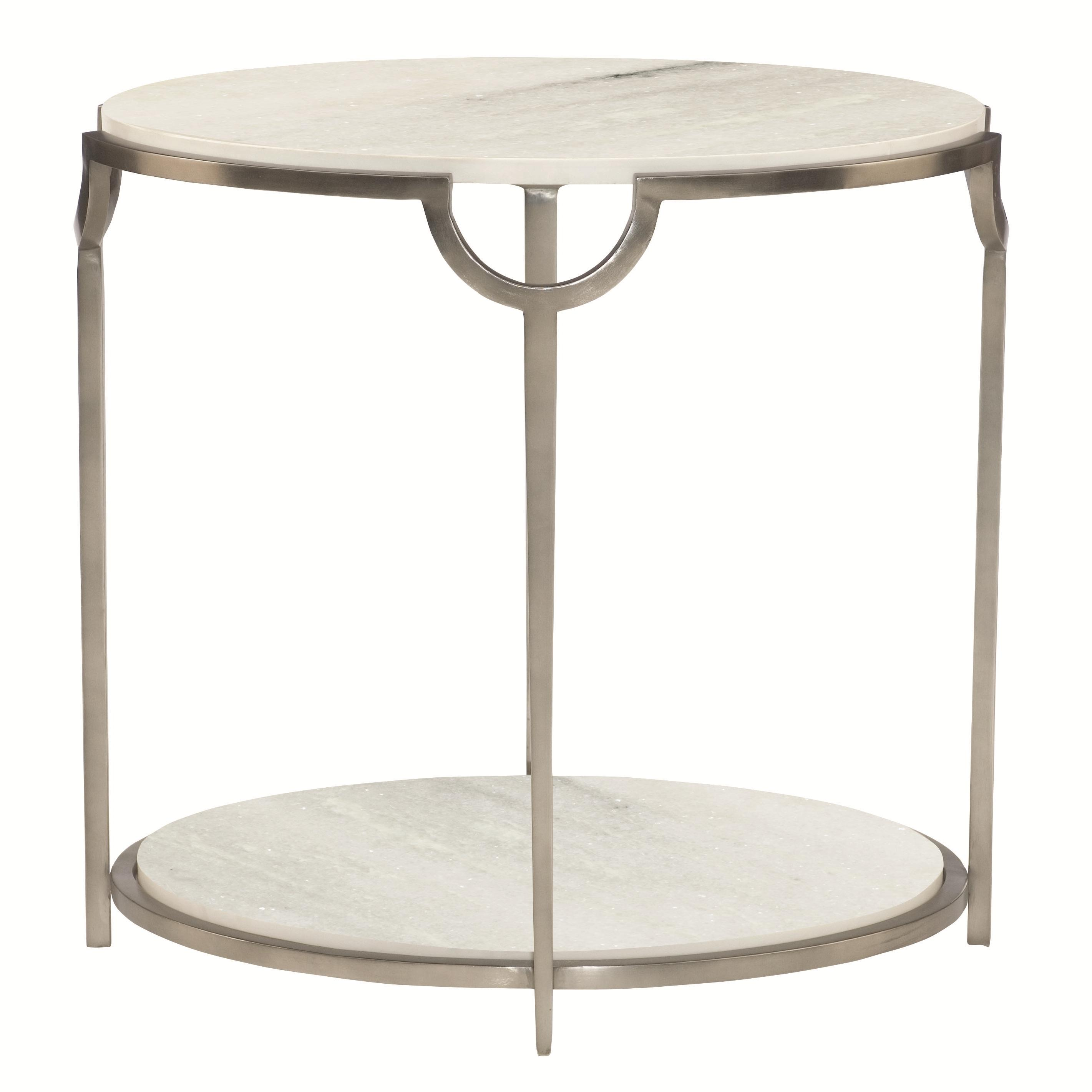 Morello Oval End Table at Williams & Kay