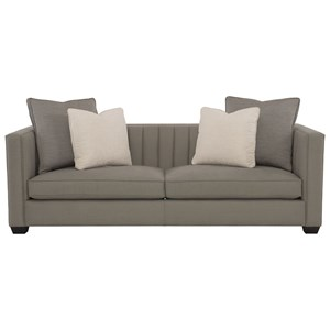 Contemporary Sofa with Line Tufting