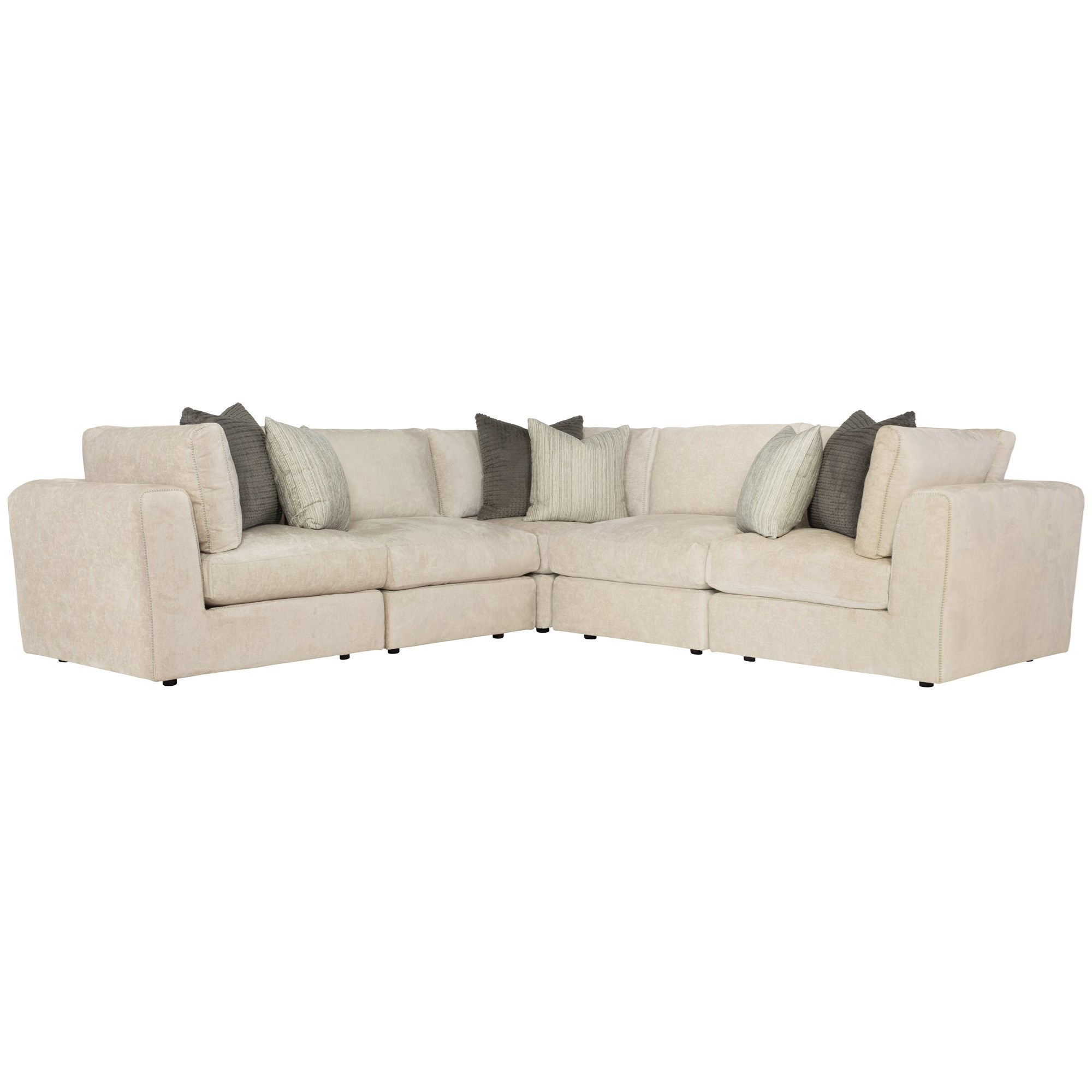 Oasis Sectional by Bernhardt at Jacksonville Furniture Mart
