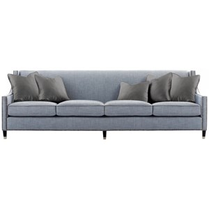 "108"" Transitional Nailhead Sofa"