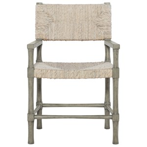 Arm Chair with Woven Abaca