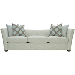 Transitional Sofa with Nailhead Trim
