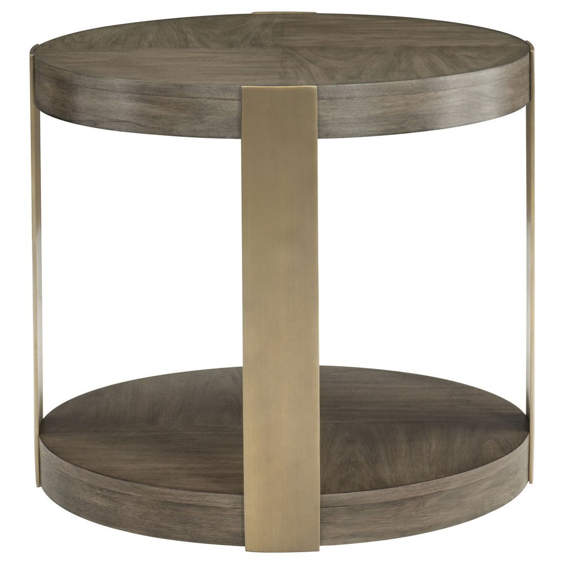 Profile Round Chairside Table by Bernhardt at Baer's Furniture