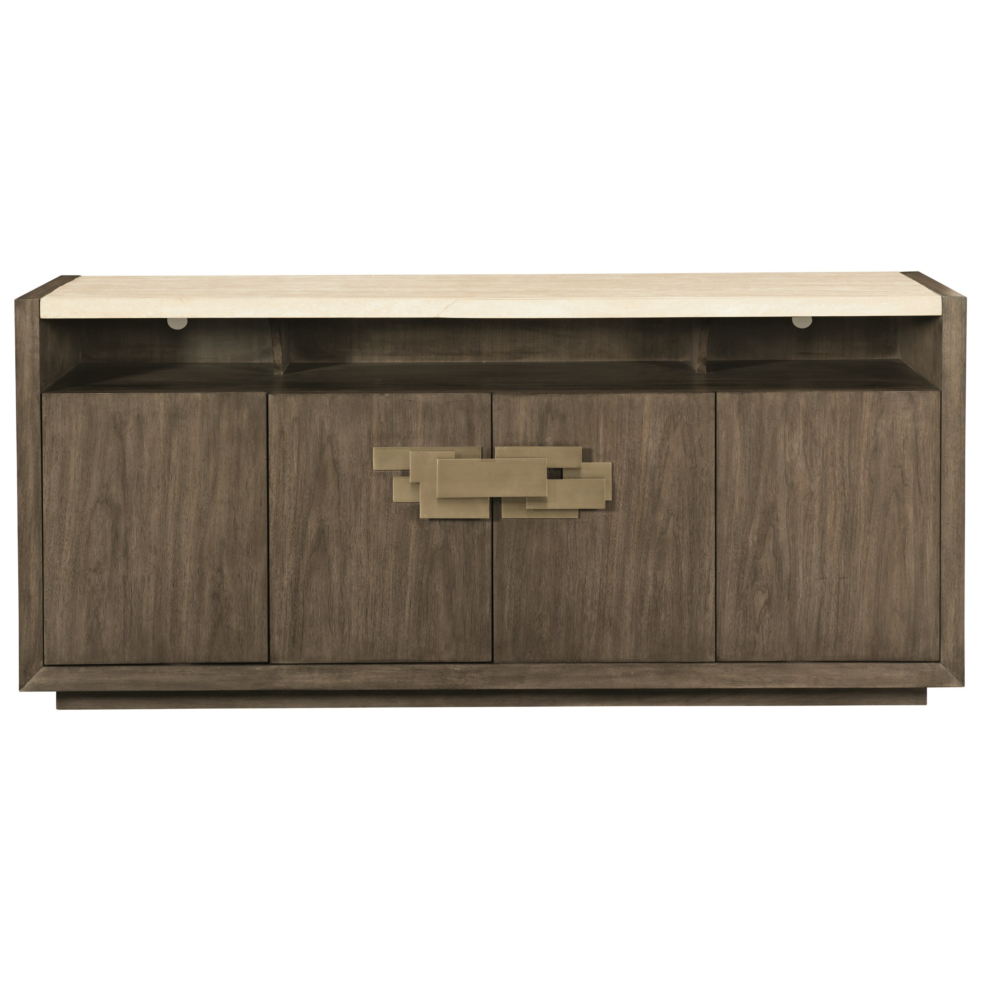 Profile Four Door Buffet by Bernhardt at Fisher Home Furnishings