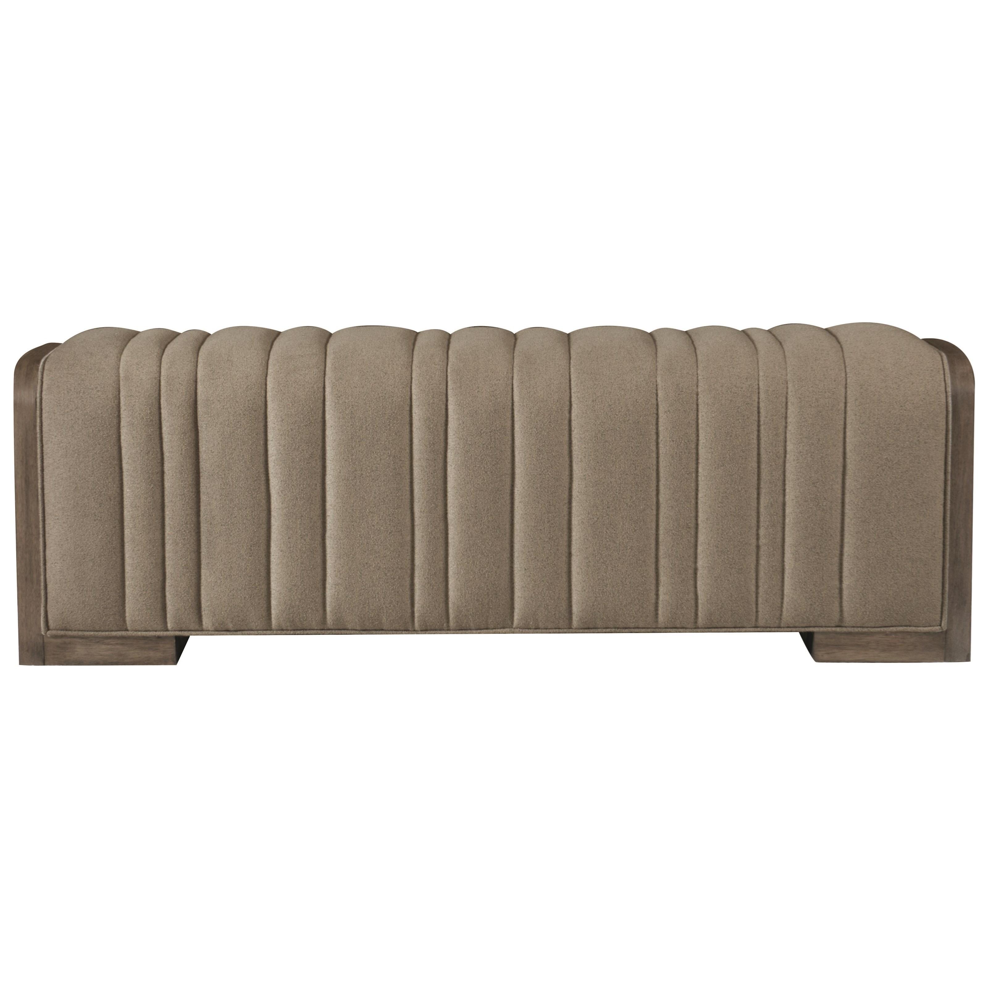 Profile Upholstered Bench by Bernhardt at Baer's Furniture