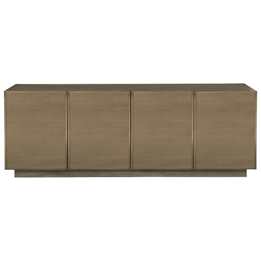 Profile Entertainment Console by Bernhardt at Baer's Furniture