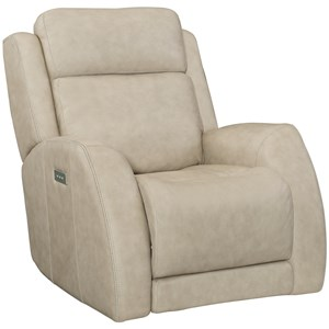 Casual Power Glider Recliner with Power Headrest / Lumbar and USB Charging Port