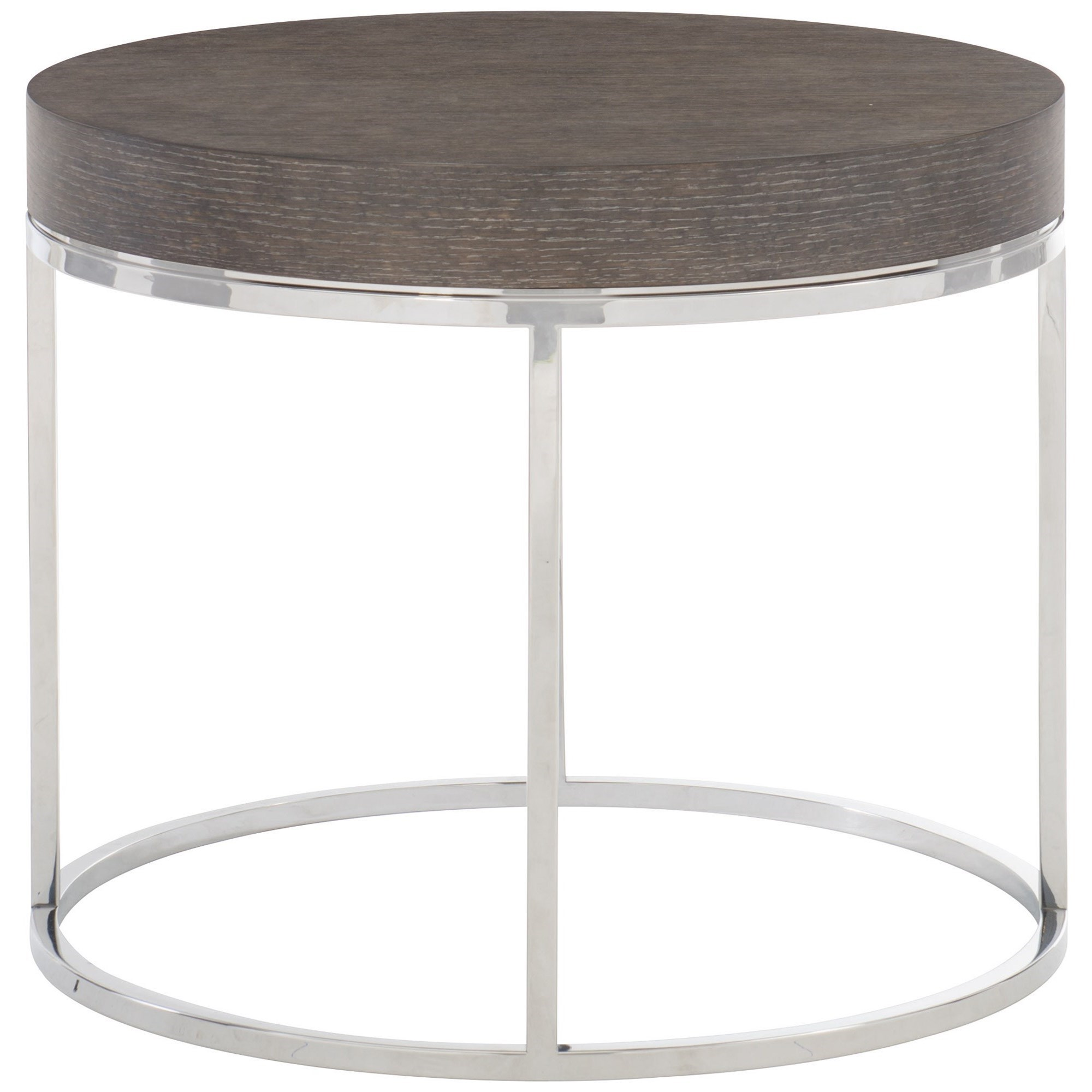 Riverside Round End Table by Bernhardt at Baer's Furniture