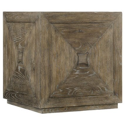Rustic Patina Cube Table by Bernhardt at Fisher Home Furnishings