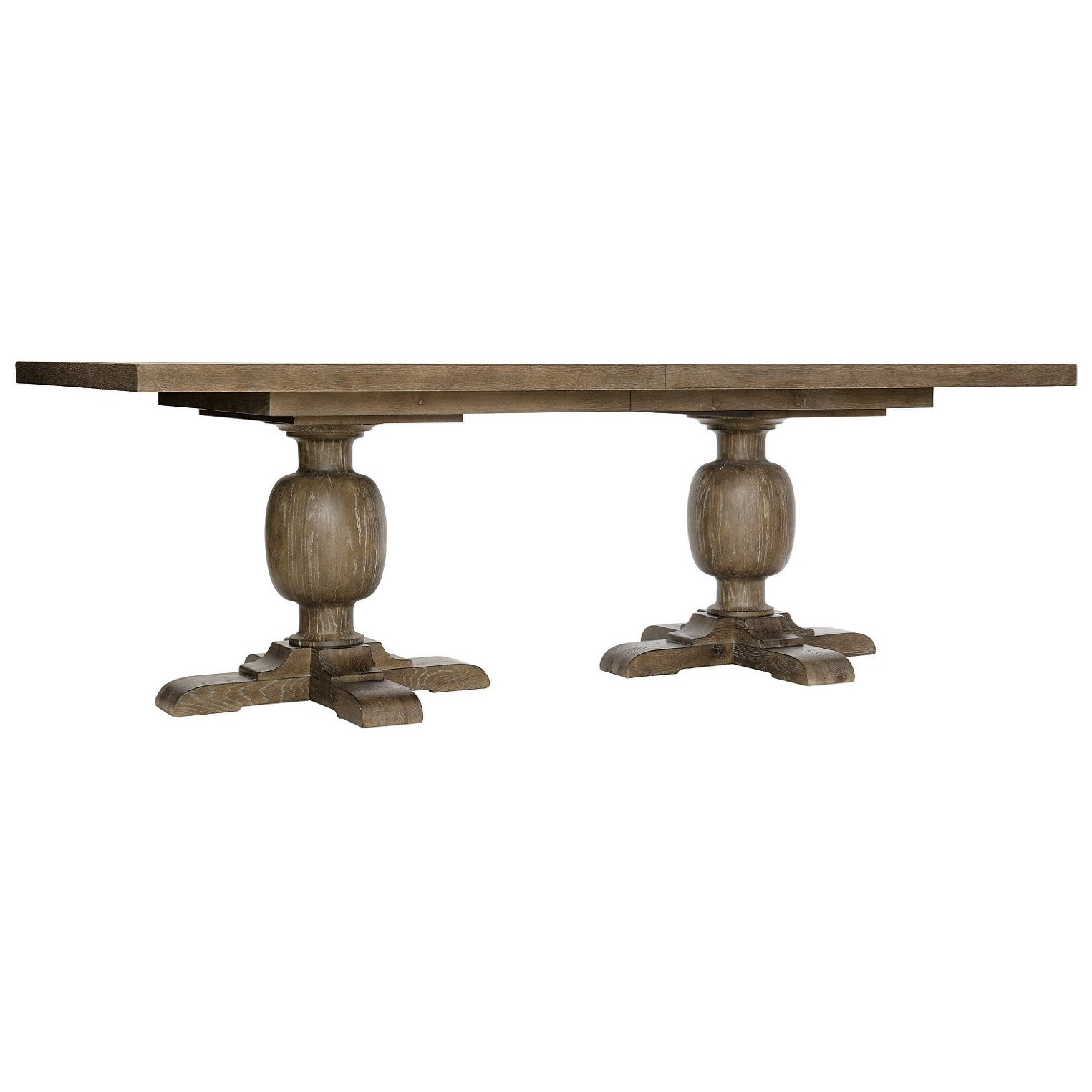 Rustic Patina Rectangular Dining Table by Bernhardt at Darvin Furniture