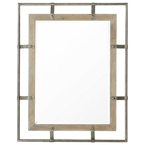 Rustic Mirror Made with White Oak Solids