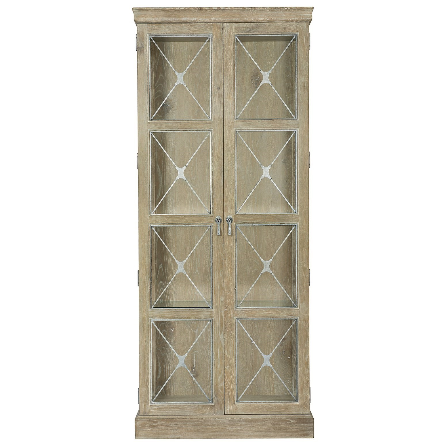 Rustic Patina Dining Room Curio by Bernhardt at Fisher Home Furnishings