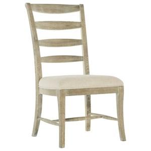 Rustic Ladderback Side Chair
