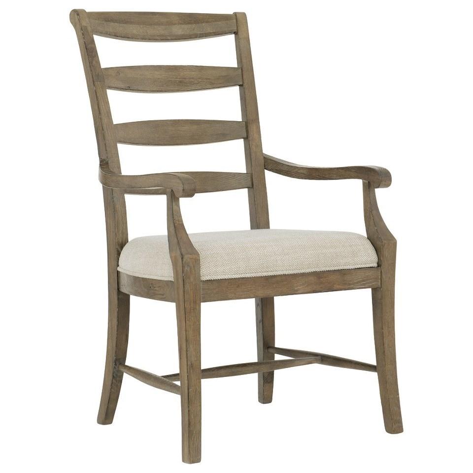 Rustic Patina Ladderback Arm Chair at Williams & Kay