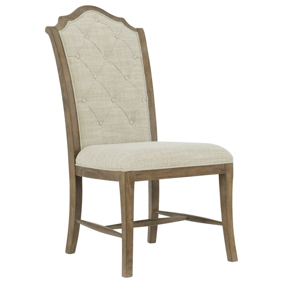 Rustic Patina Side Chair by Bernhardt at Darvin Furniture