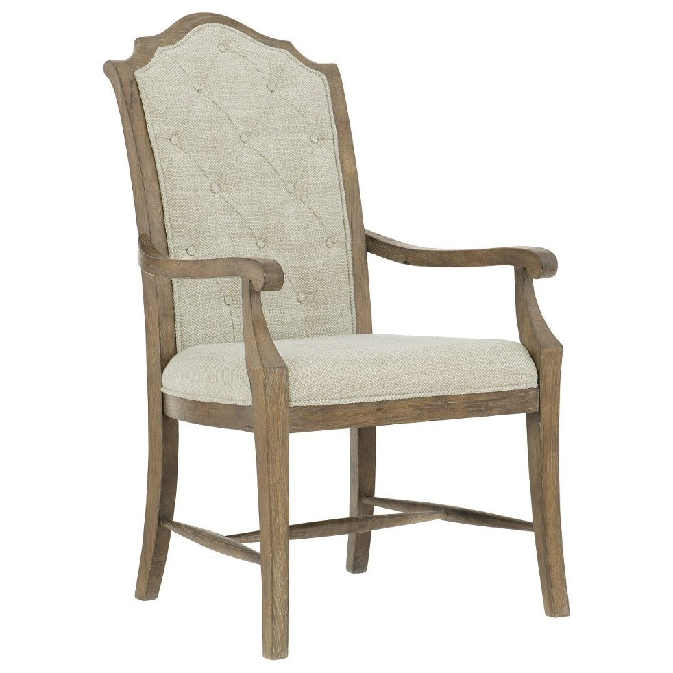 Rustic Patina Arm Chair by Bernhardt at Darvin Furniture