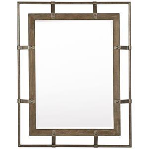 Rustic Patina Mirror