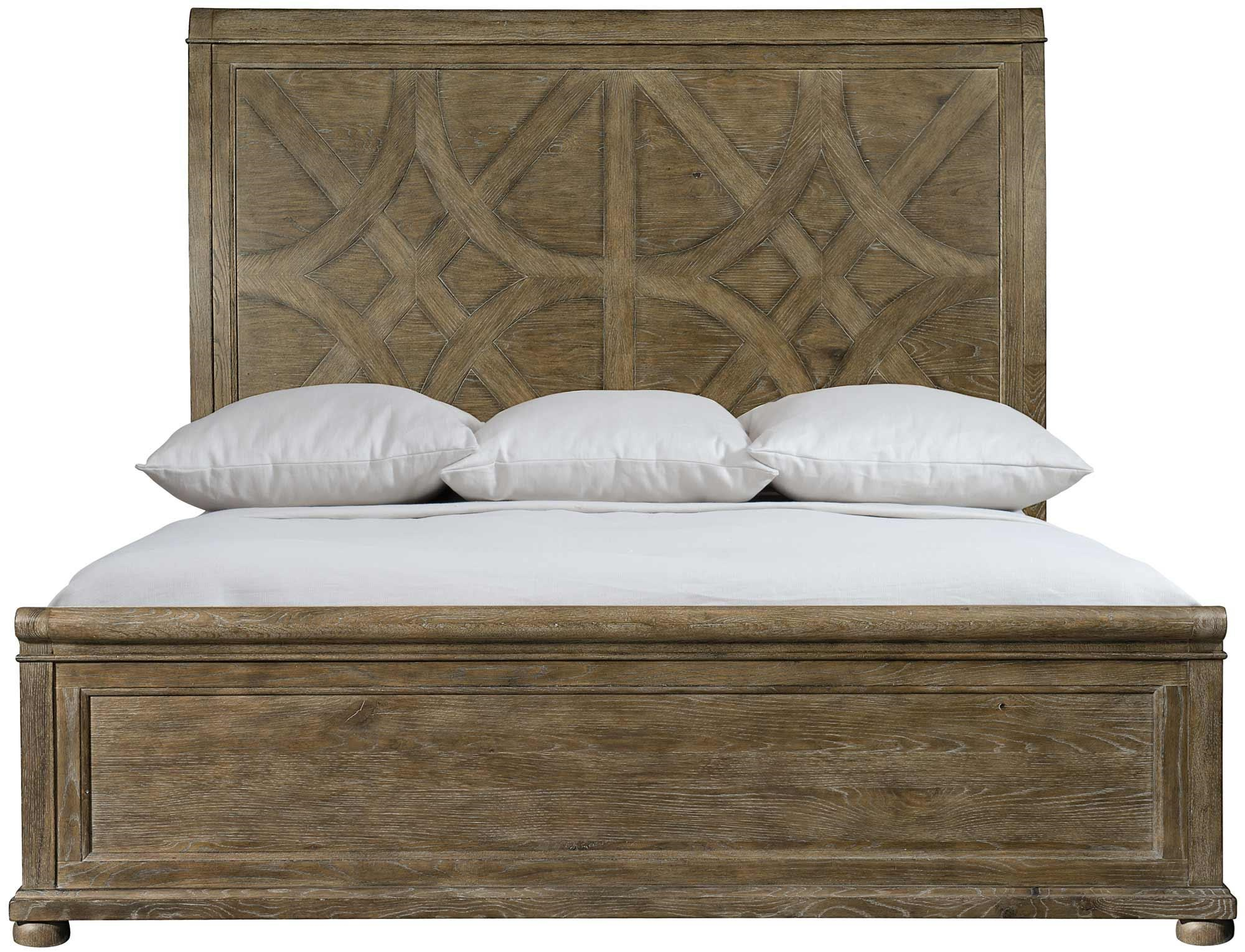 Rustic Patina Rustic Patina Queen Panel Bed by Bernhardt at Morris Home
