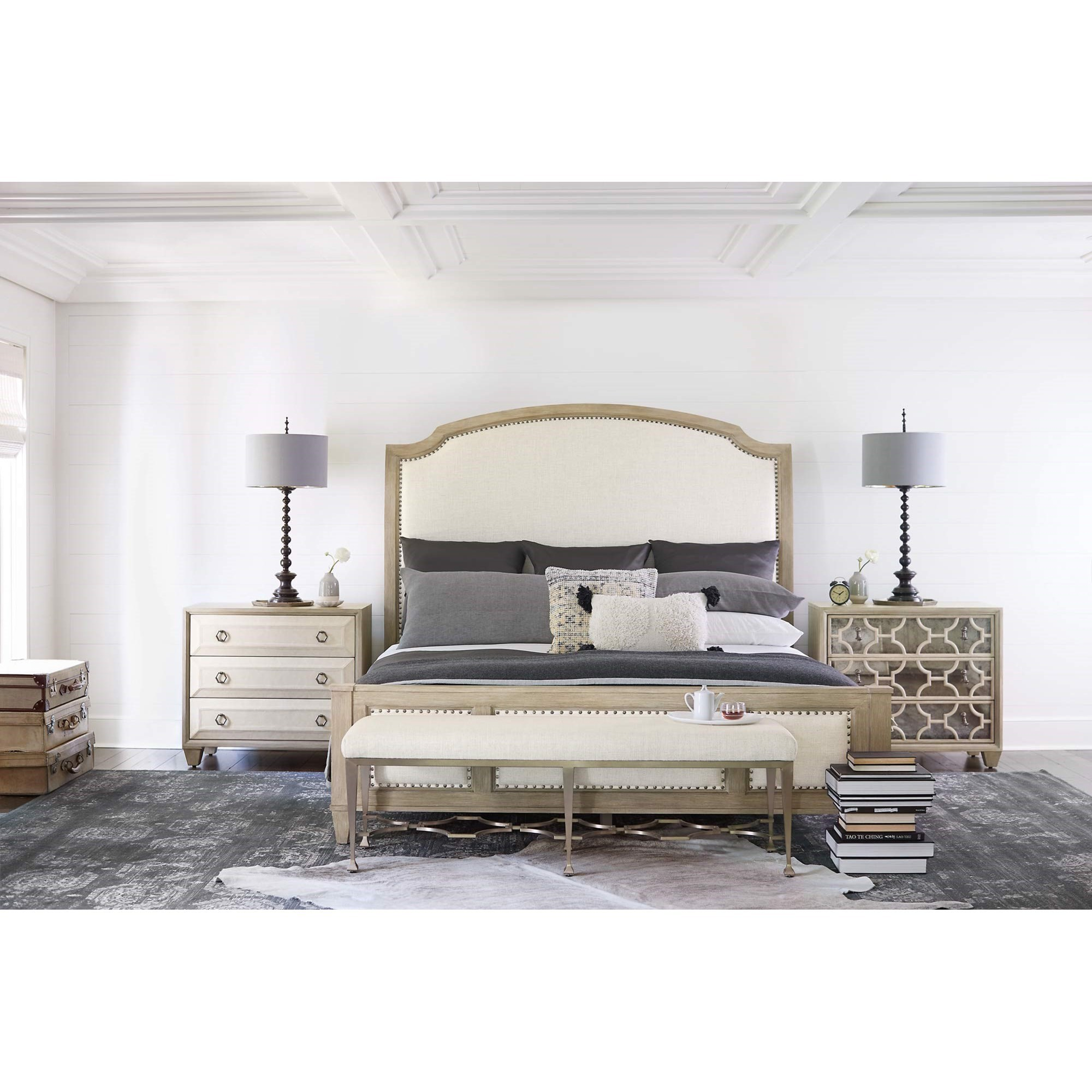 Santa Barbara King Bedroom Group by Bernhardt at Baer's Furniture