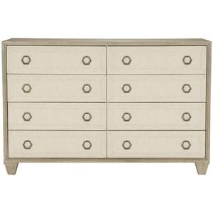 Transitional 8-Drawer Dresser