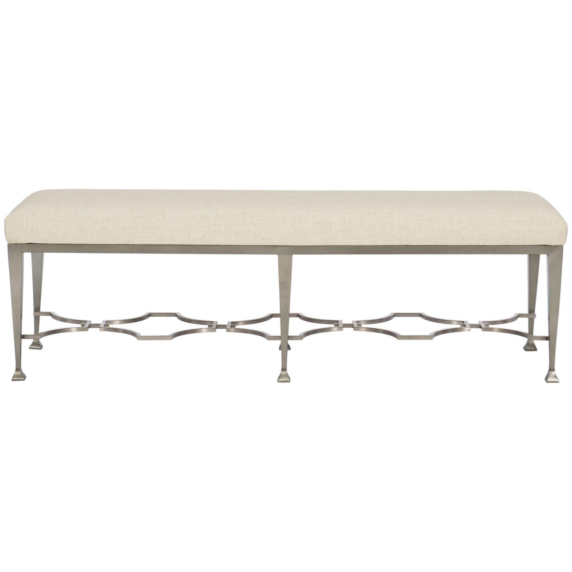 Santa Barbara Customizable Metal Bench by Bernhardt at Baer's Furniture