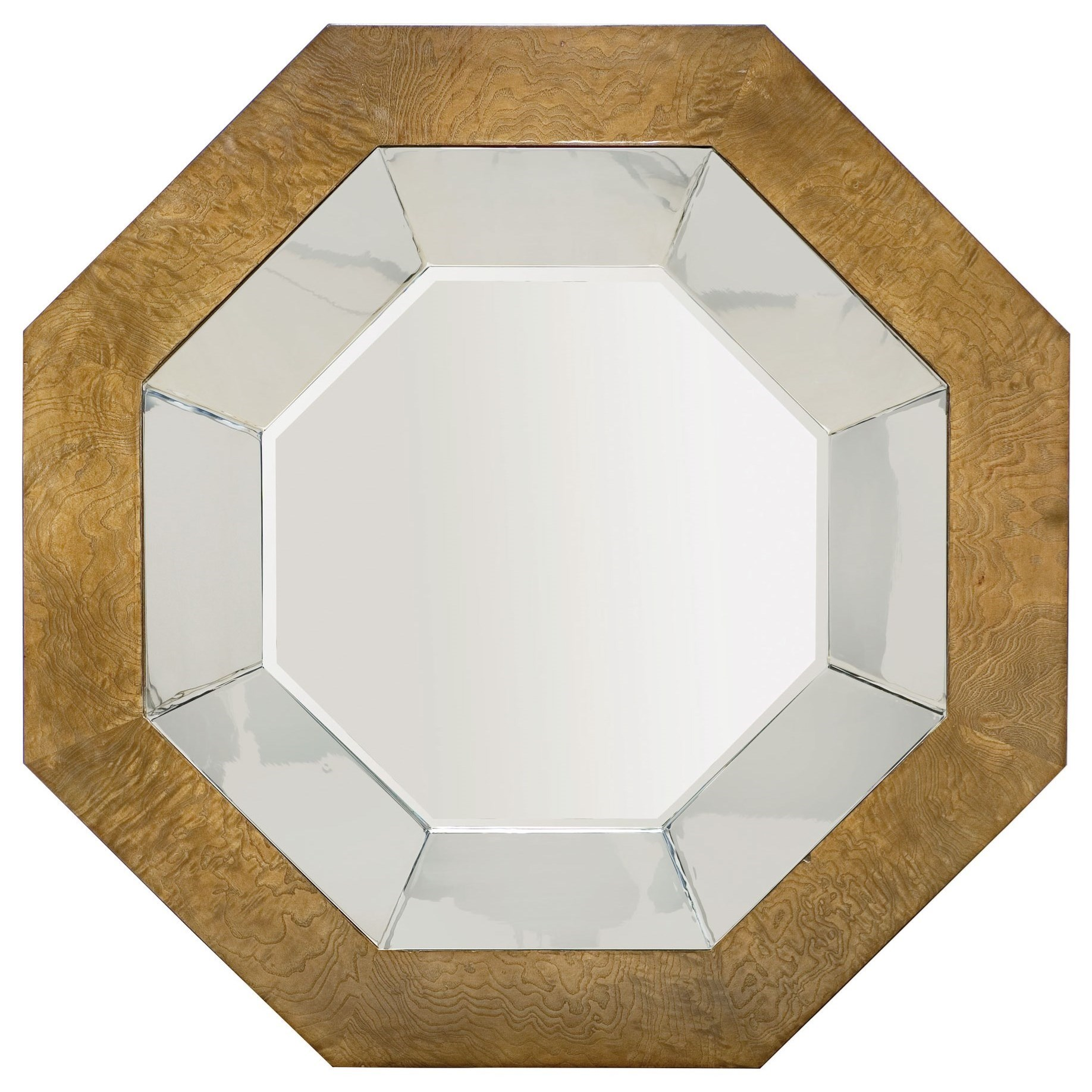 Soho Luxe Modern Octagonal Mirror at Williams & Kay