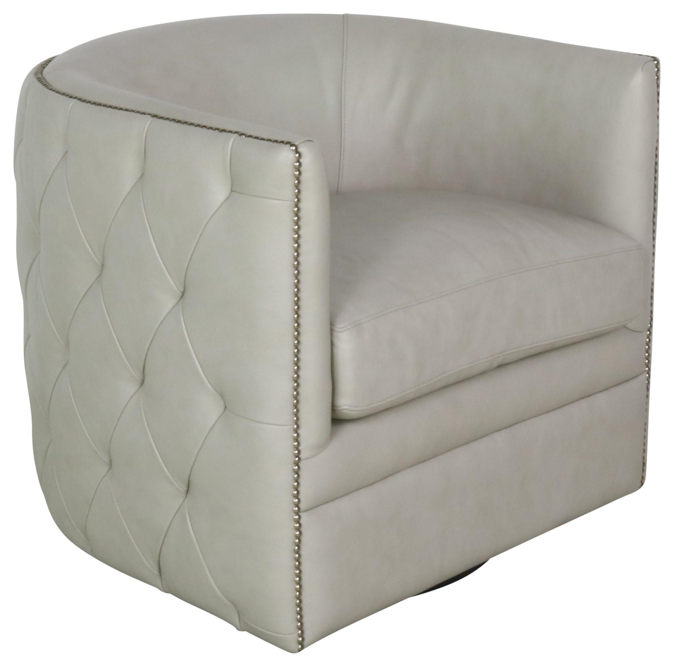 SPRINTZ BERFU Swivel Chair by Bernhardt at Sprintz Furniture