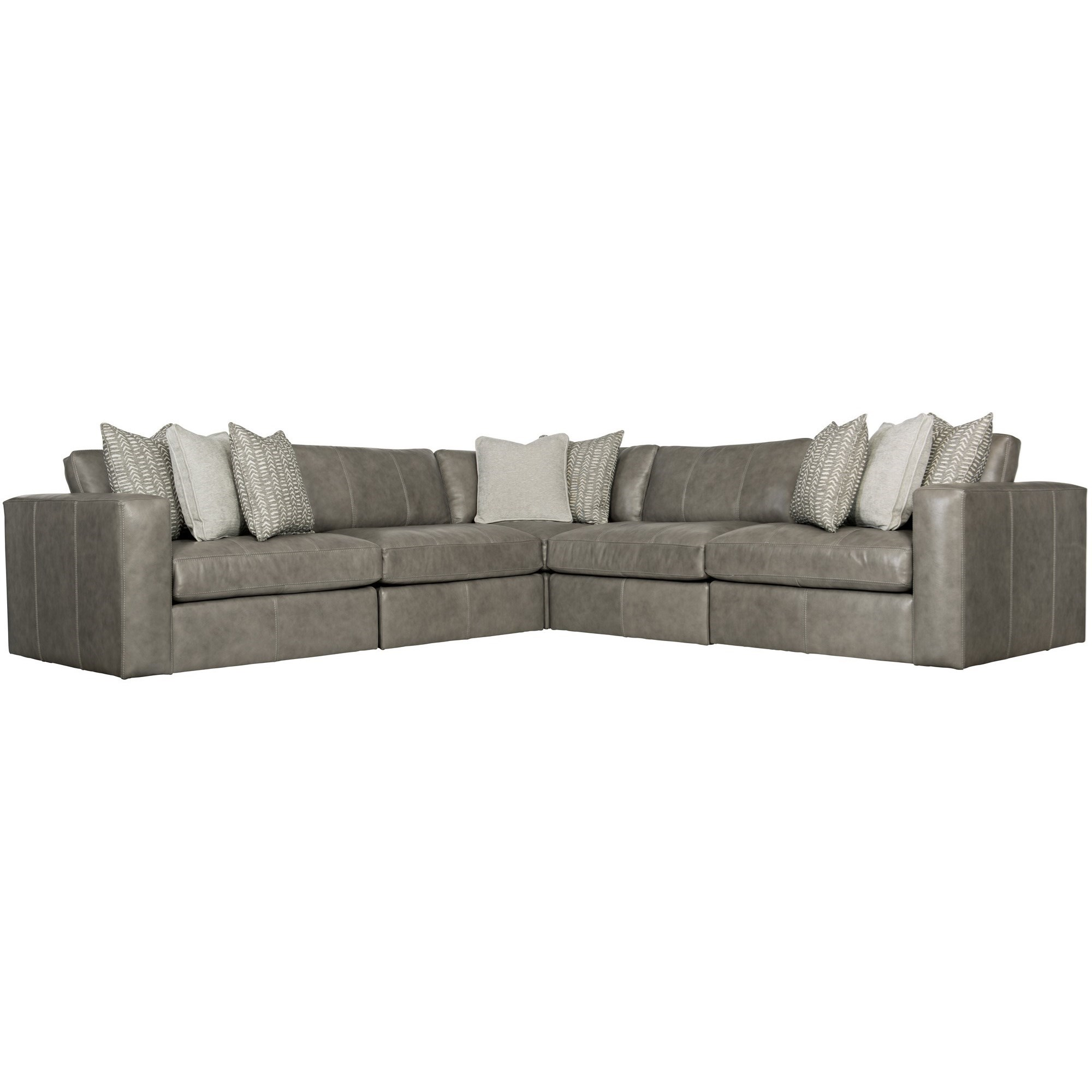 Stafford Five Seat Sectional by Bernhardt at Baer's Furniture