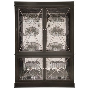 China Cabinet with Touch Light